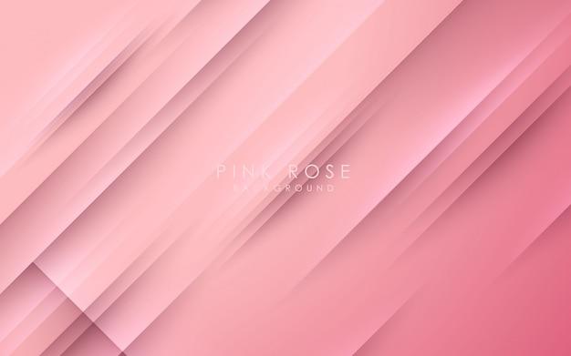 Resumo diagonal luz fundo rosa