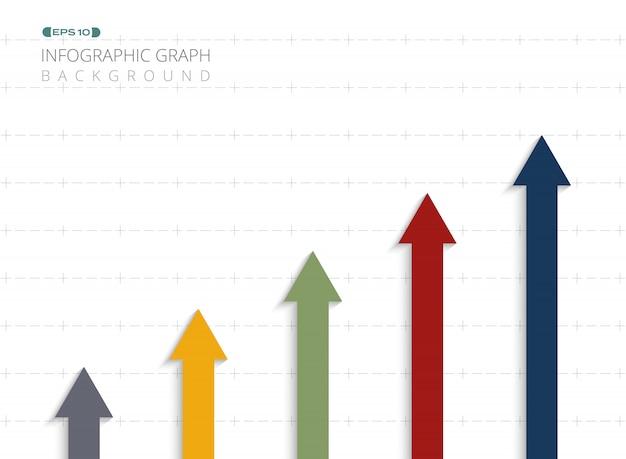 Resumo do gráfico colorido da informação
