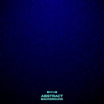 Resumo do padrão de pontos azuis
