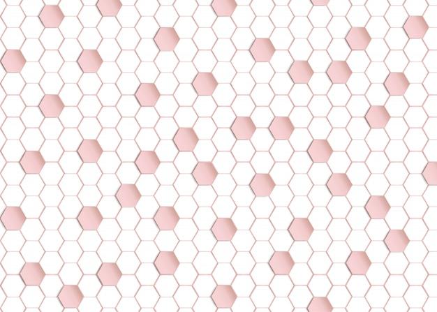 Resumo em desenho geométrico de fundo