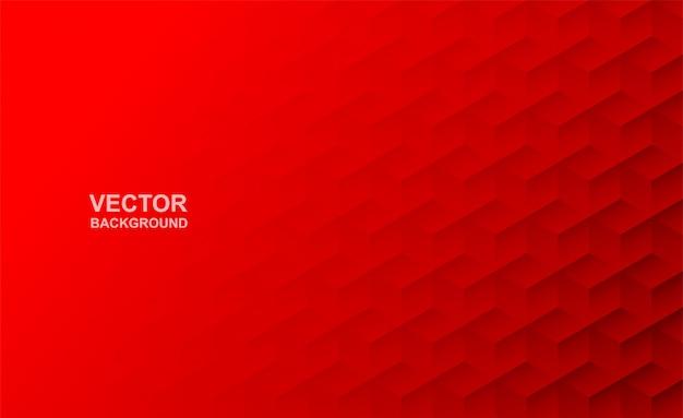Resumo. fundo moderno. fundo vermelho do polígono.