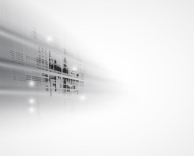 Resumo futurista desvanece-se fundo de negócios de tecnologia