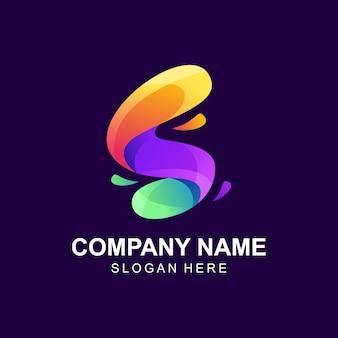 Resumo letra s logotipo