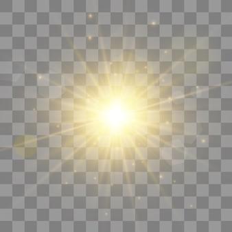 Resumo luzes brilhantes luzes de bokeh.