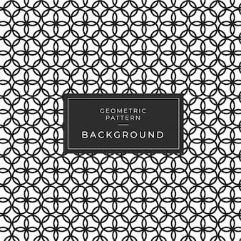 Resumo padrão geométrico com linhas, losangos