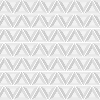 Resumo padrão geométrico com triângulos, sem costura de fundo vector.