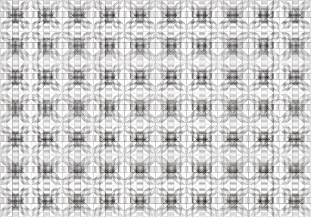 Resumo padrão geométrico, um plano de fundo transparente.