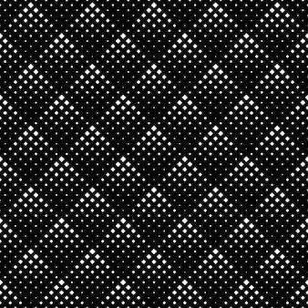 Resumo padrão quadrado preto e branco sem costura