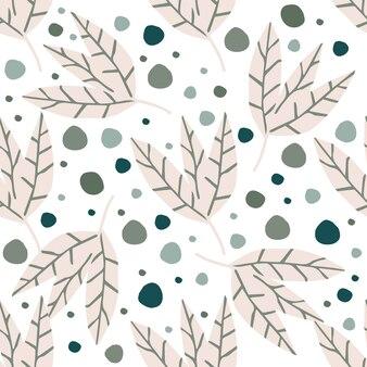 Resumo padrão simples folhas douradas