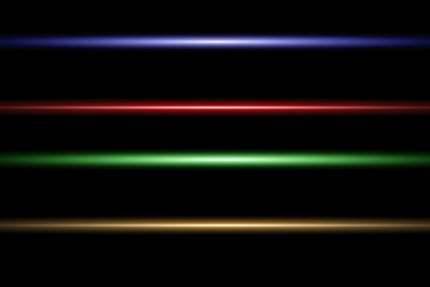 Resumo raio laser. transparente isolado ..