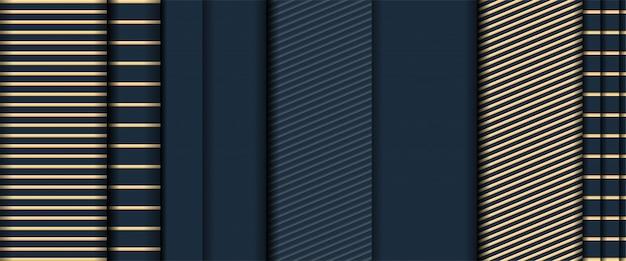 Resumo realista de sobreposição de textura dourada camadas fundo escuro