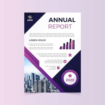 Resumo relatório anual com gráfico
