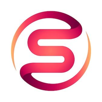 Resumo s logo design