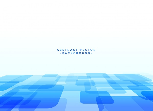 Resumo techno slyle fundo azul