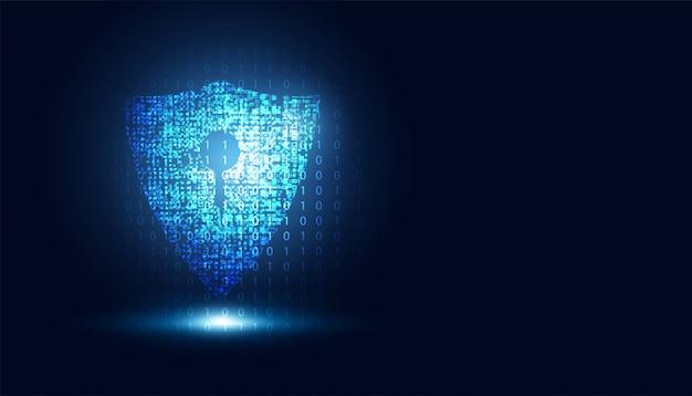 Resumo tecnologia cyber segurança informações seguras privacidade escudo