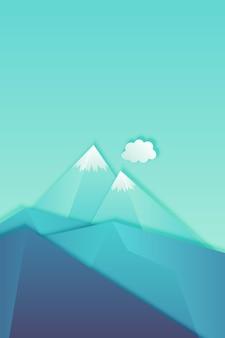 Retângulo azul claro abstrato em ilustração vetorial de fundo diagonal