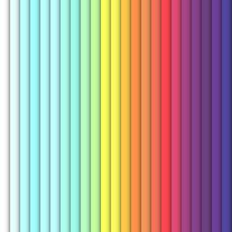 Retângulos verticais de cor brilhante