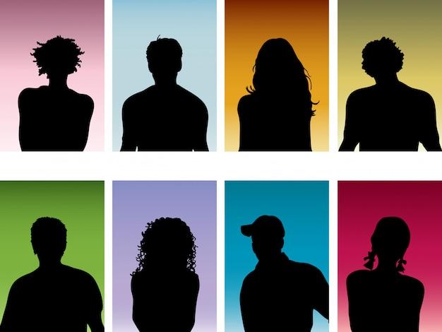 Retratos de pessoas