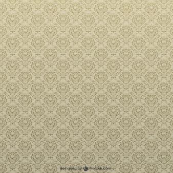 Retro floral padrão de redemoinho