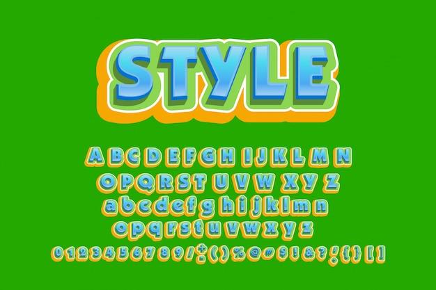 Retrô font 90, 80, com camadas coloridas e efeito vhs.