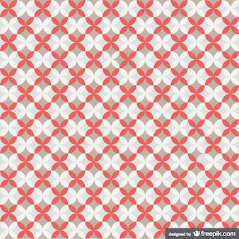 Retro padrão geométrico livre