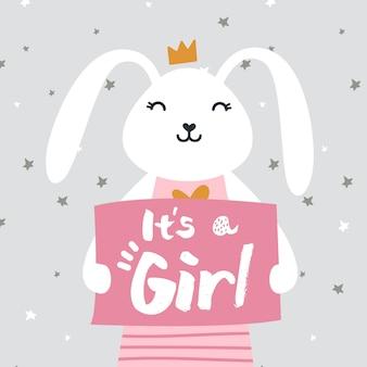 Revelação de gênero de uma garota