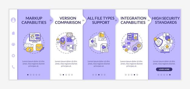 Revisão e aprovação online do modelo de integração dos recursos da ferramenta