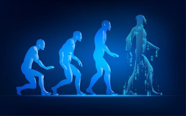 Revolução do homem andando