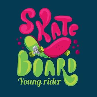 Rider lendário do estilo de rua do estilo de skate freestyle, freestyle do skate