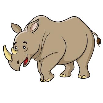 Rinoceronte dos desenhos animados