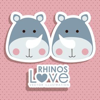 Rinocerontes design