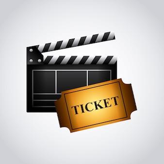 Ripa e ícone de ticket