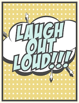 Rir em voz alta