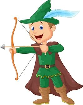 Robin hood dos desenhos animados