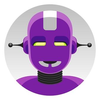 Robô android super-herói