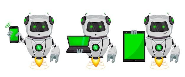 Robô com inteligência artificial, bot