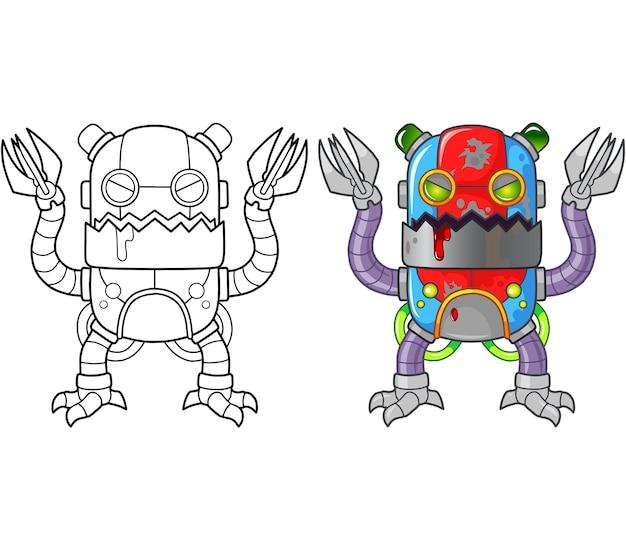 Robô monstro