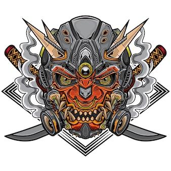 Robô samurai