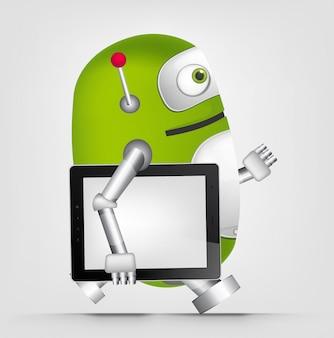 Robô verde
