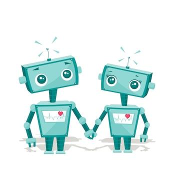 Robôs apaixonados