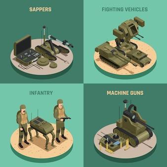 Robôs de combate 2x2 design concept