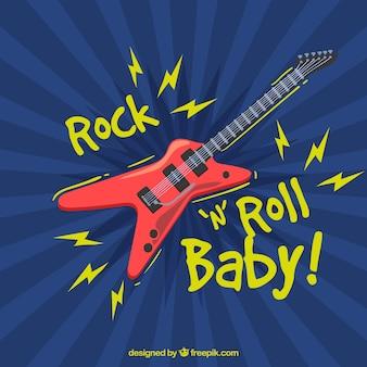Rock and roll de fundo