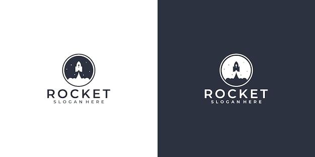 Rocket sky logo deisgn