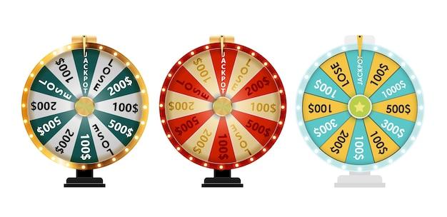 Roda da fortuna, coleção de ícones da sorte