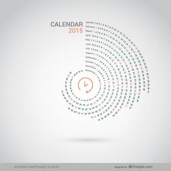 Rodada 2015 calendário
