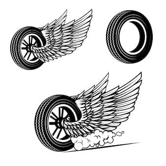 Rodas com asas