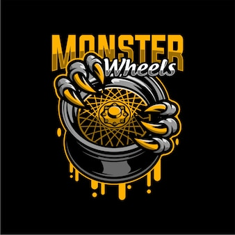 Rodas de monstro
