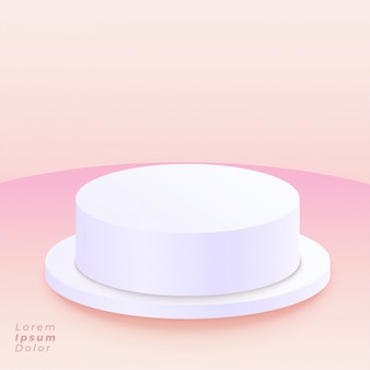 Rodízio em fundo rosa macio