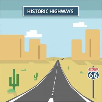 Rodovias históricas