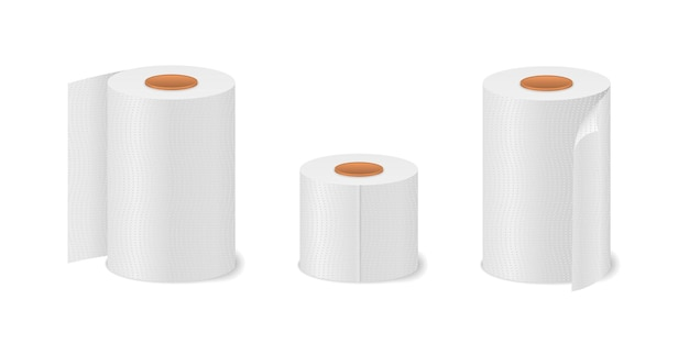 Rolo de papel higiênico para banheiro e banheiro